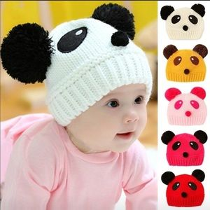 Other - NWT crochet baby beanie set